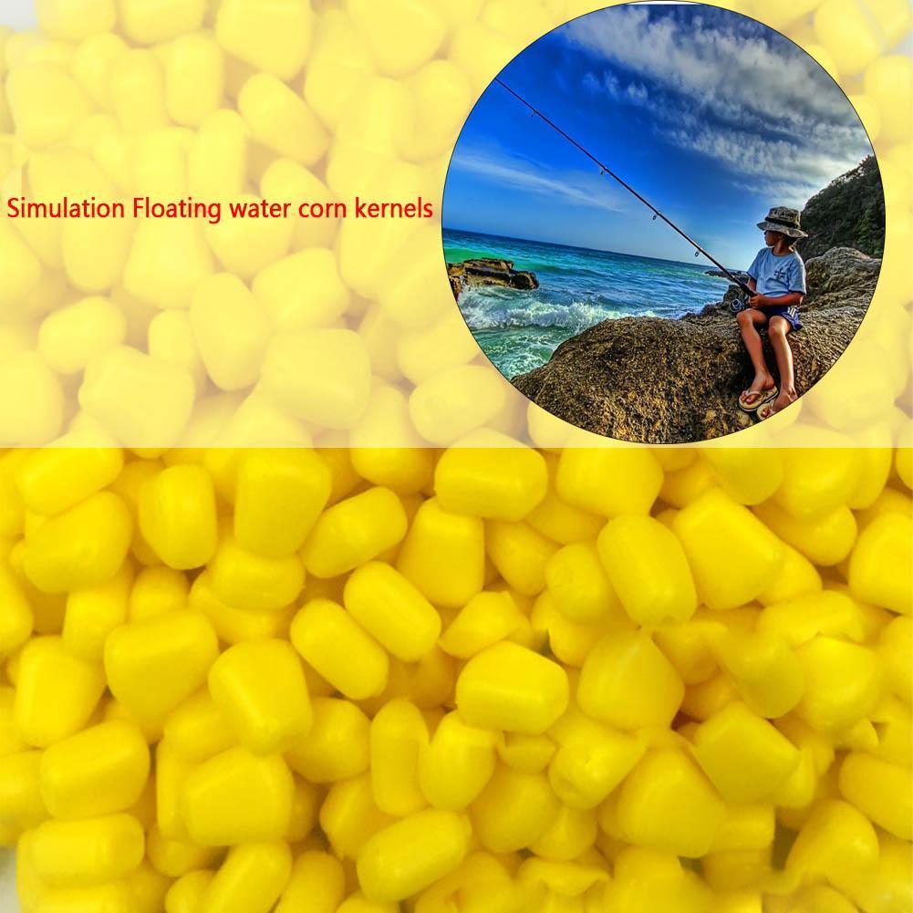 Simulation Fake Soft Baits Corn Carp Fishing Lures Floating Baitsnice 2018