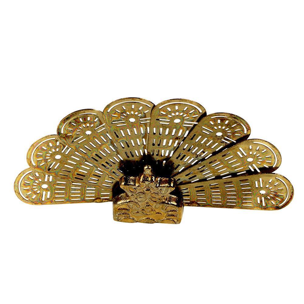 Dollhouse Miniature House Classics brass Peacock Fire 1:12 Screen scale  NEW