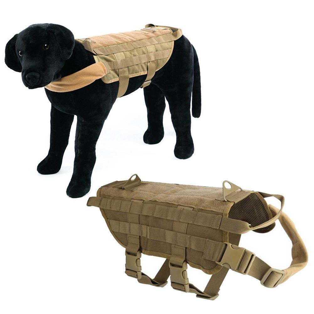Large Dog Clothes Combat Vest Tactical Training