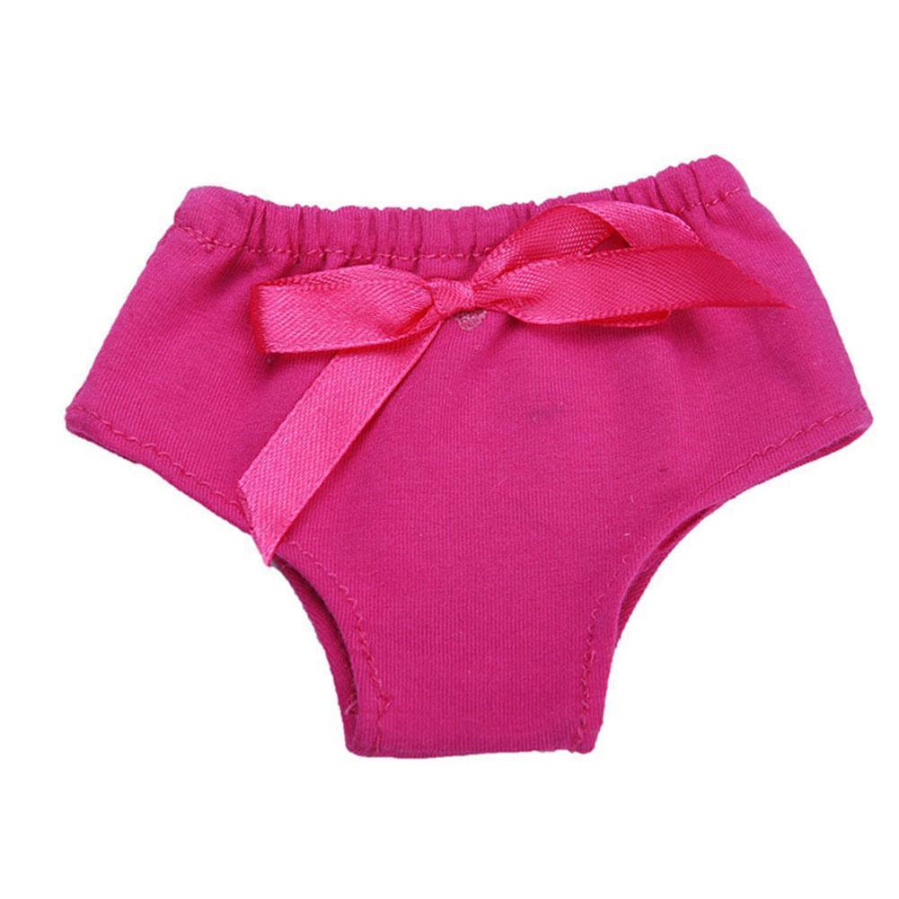 Gestreifte Bogen Puppe Tuch Kleidung Unterwäsche Höschen für 18 Zoll Mädchen 1x Puppen & Zubehör Babypuppen & Zubehör