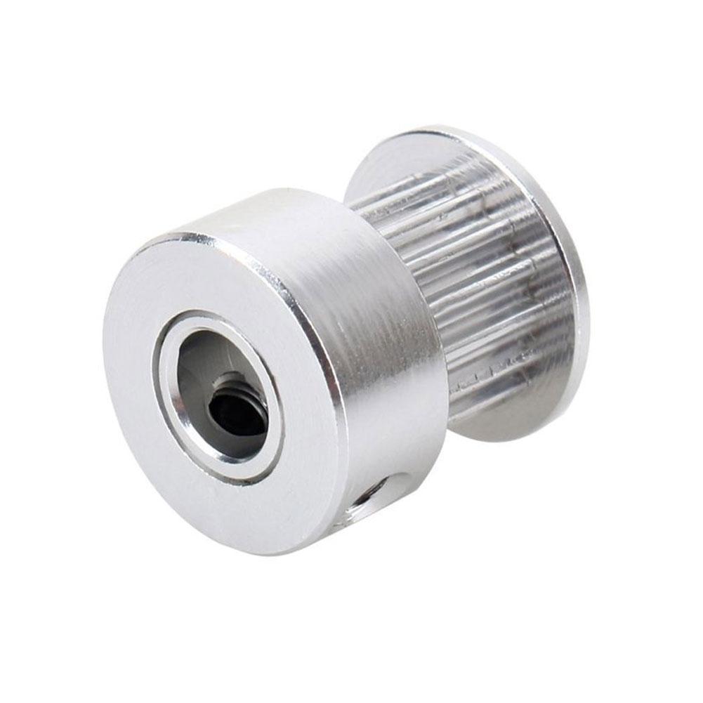 5stk GT2 16 Teeth 5mm Bore Aluminum Timing Belt Pulley For 3D Printer CNC