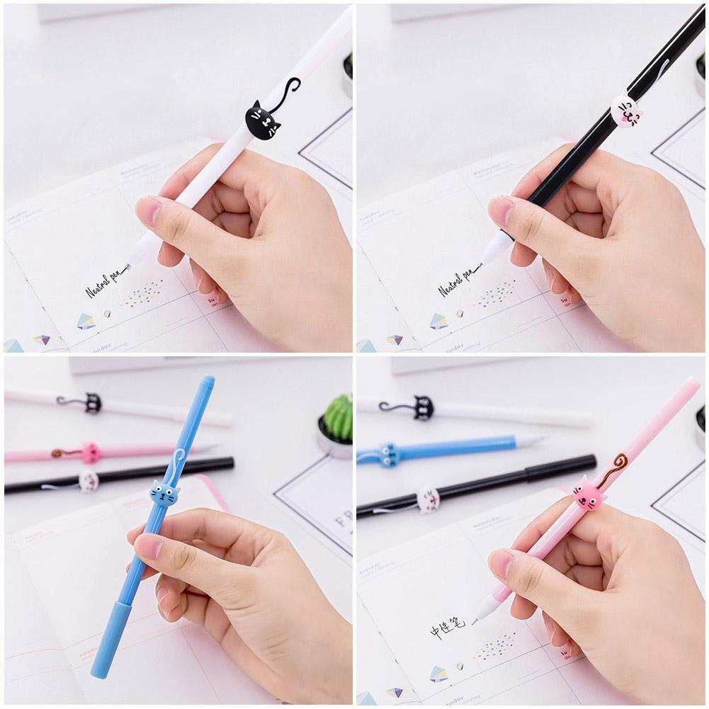 4 colors in 1 Ballpoint Pen Writing Student Mark Pens Stationery E0G7 Off S B2G8