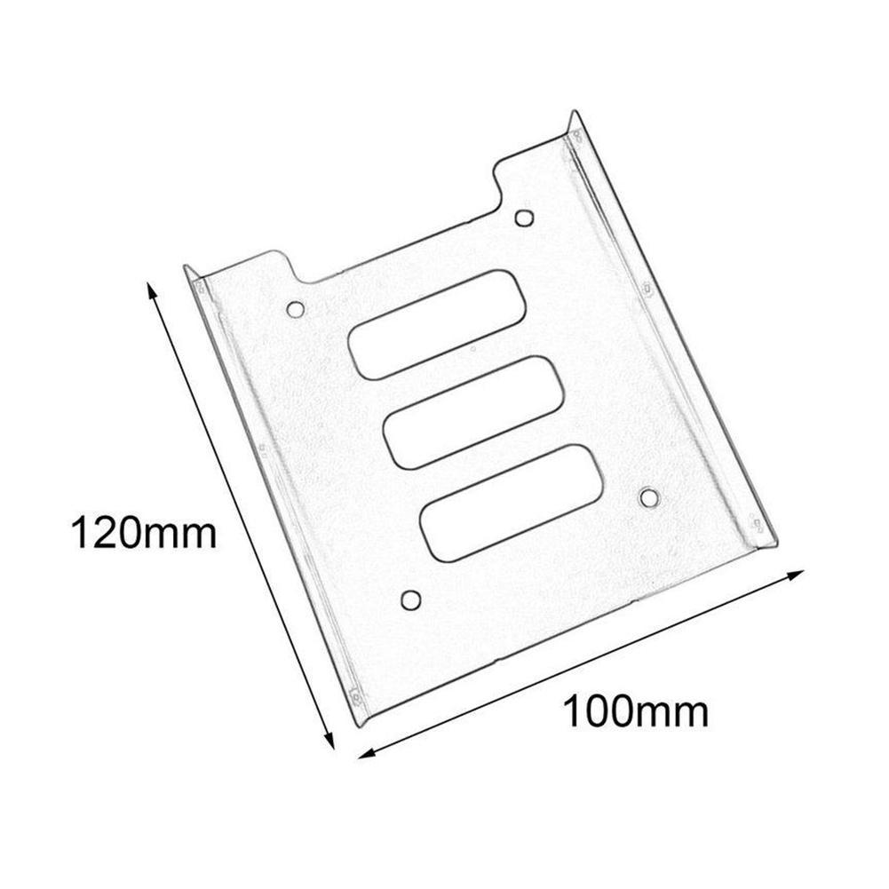 25 To35 Ssd Hdd Metal Adapter Mounting Bracket Hard Drive Holder Diagram Disk Makes Laptop Carrier Inch On 35 Chassis Packing Include 1 X To
