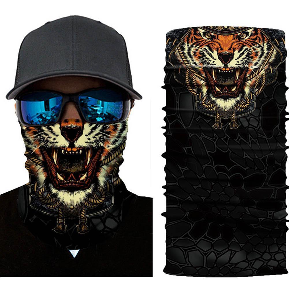 Tarnungs Schal Stirnband Gesichtsmaske Winter warme Bandana Headwear-Schals K7N5