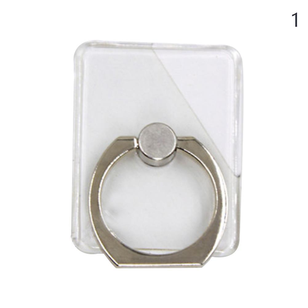 通用指環支架手機支架通用指環扣透明懶人支架粘貼水鉆多色選