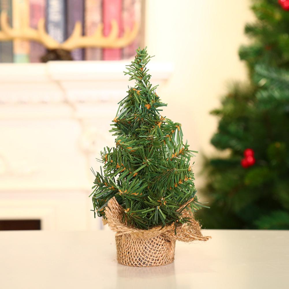 20/30cm Weihnachten Kleine Kiefer Platziert In Der Desktop Mini ...
