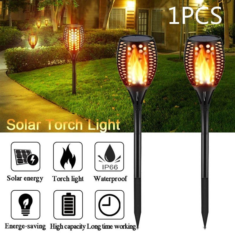 Torch Ip66 Waterproof Flickering Durable Yard Patio Walkway Practical Lawn Flame Landscape Decoration Solar Lamp Garden Lights & Lighting