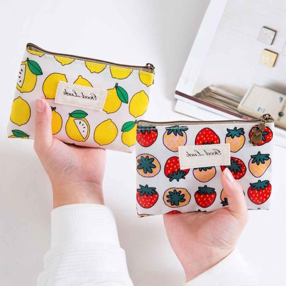 2017新款印花化妆包洗漱包时尚卡通防水收纳包女士零钱包一件代发