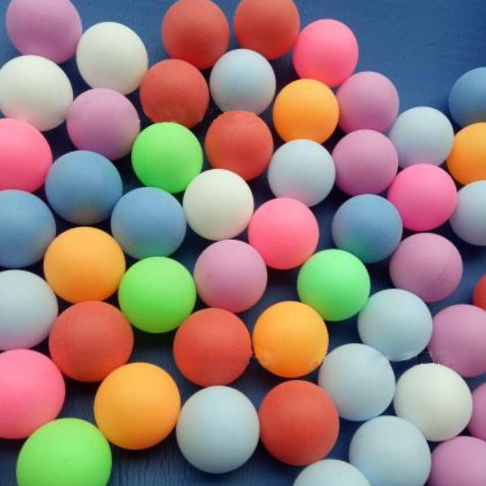 10PCS Ping Pong Balls 40mm Colored Replacement Practice Sport B7O1 Table Te J2S7