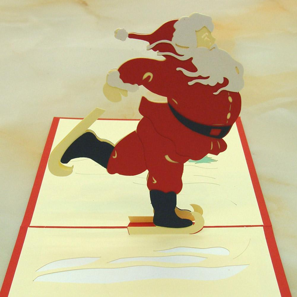 3D Pop Up Card Birthday Wedding Xmas Chiristmas Greeting Cards ...