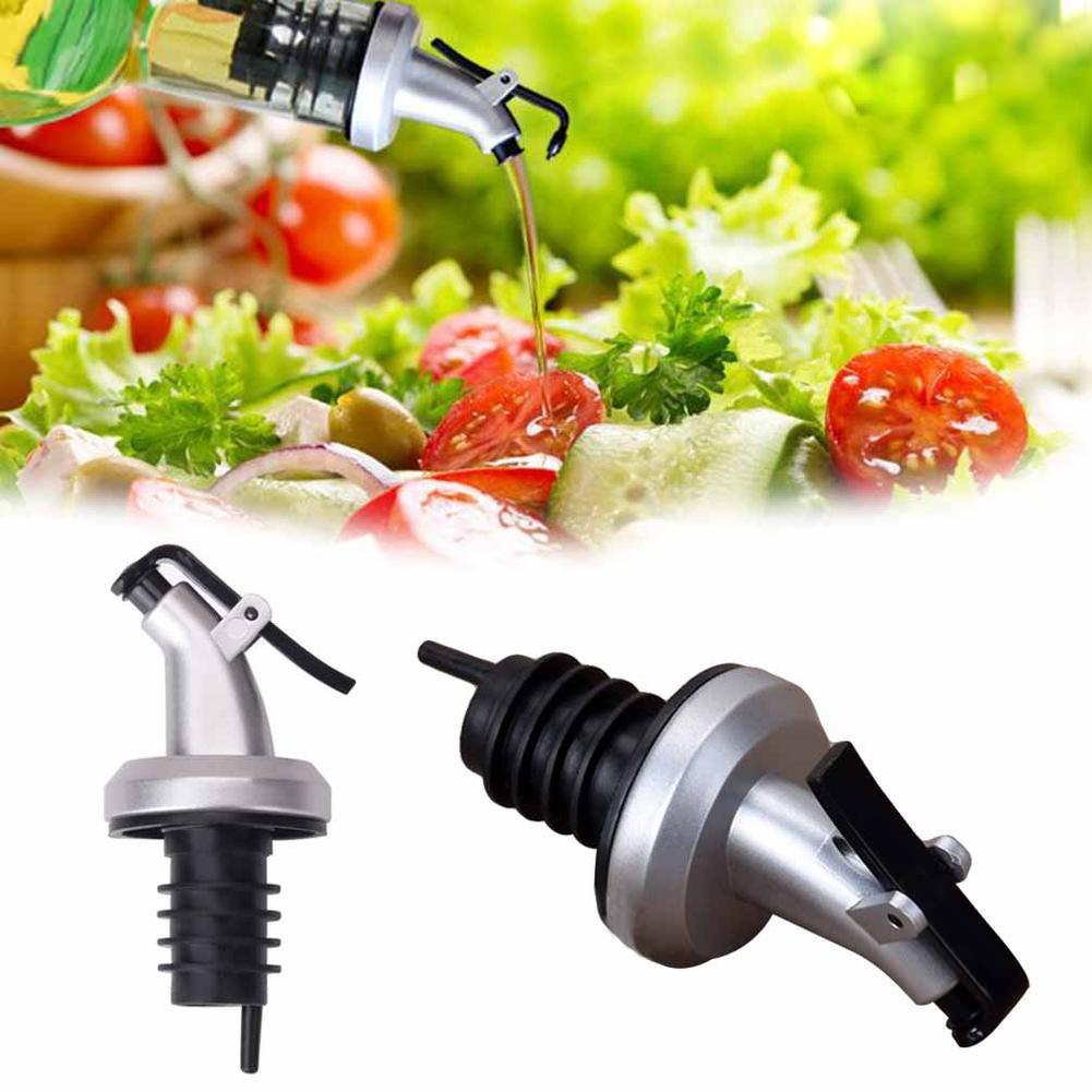 Glass Olive Oil Vinegar Dispenser Pourer Seasoning Bottle Tool Kitchen Cook C7P8