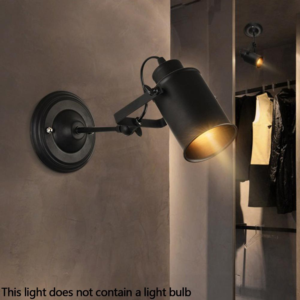 Einstellbare LED Vintage Light Industrial Deckenleuchte Wandleuchte Leuchte
