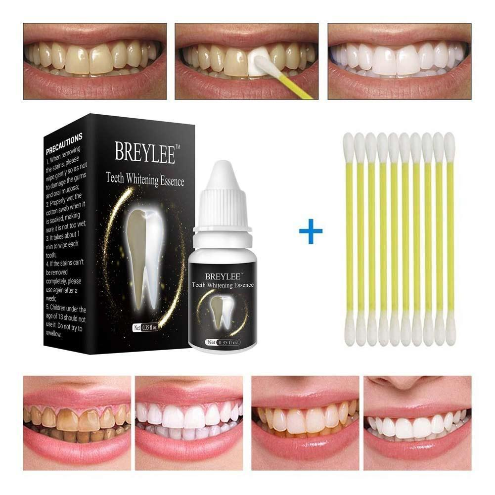 Details about BREYLEE Teeth Whitening Essence Cleaning Teeth Remove  Coffee-Stains X4N4