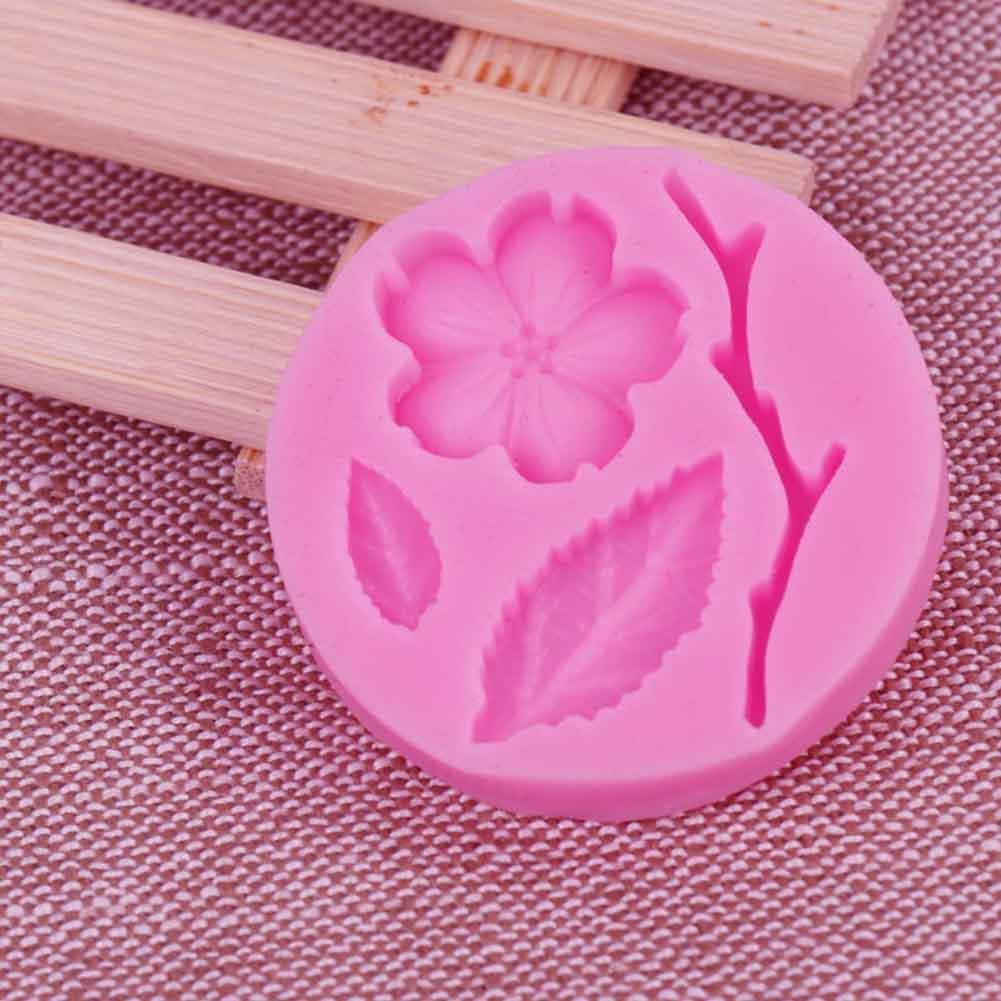 Blumen Silikon Form Kuchen Praline Soap Würfel Behälter N8D3 Großhandel Mol R8J4