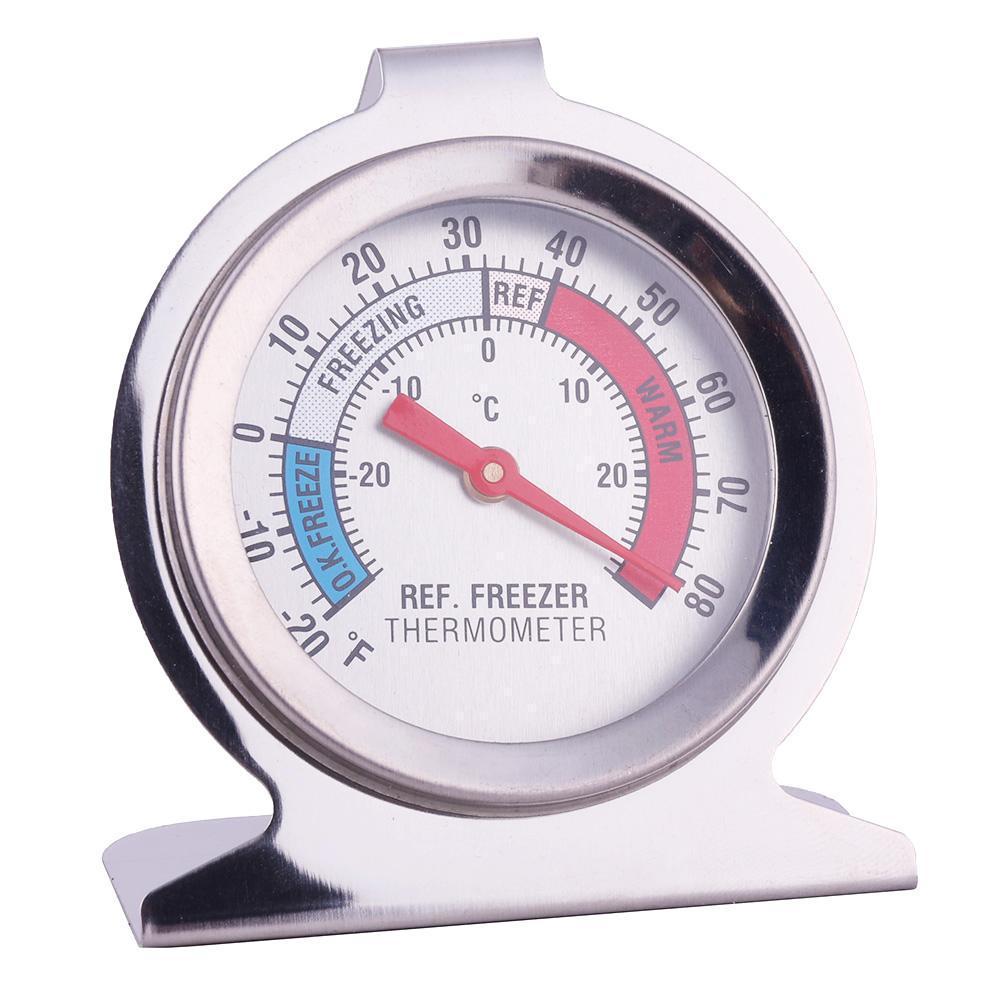 Neu Edelstahl Kühlschrank Thermometer Tiefkühl Lagertechnik mit Tiefkühltruhe