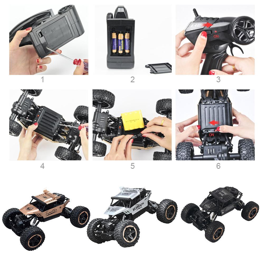 50 km h climbing rc truck 4wd off road crawler. Black Bedroom Furniture Sets. Home Design Ideas