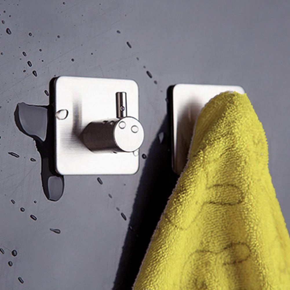 8 Stücke Küche Bad 3 Mt selbstklebende klebrige Haken Wand Kleiderbügel für Hand