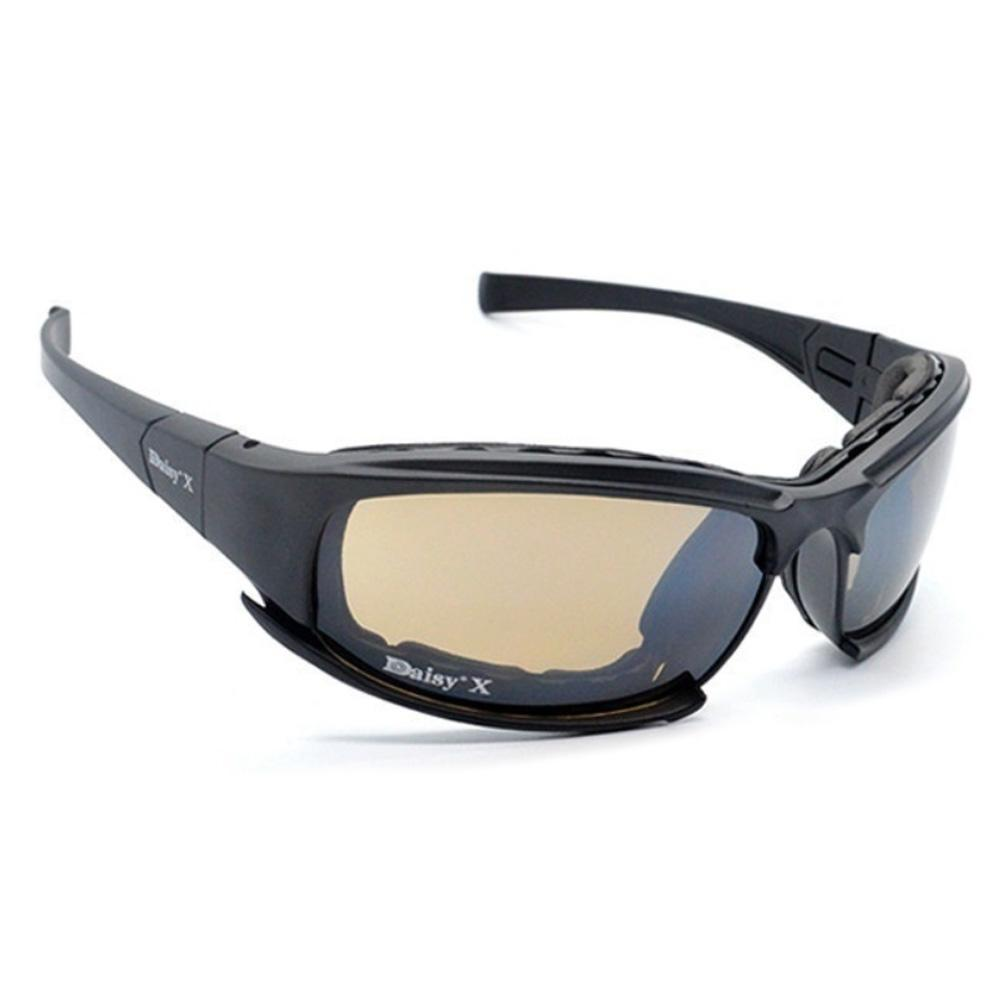 Daisy X7 UVA//UVB Tactical Military Style Glasses Goggles Motorcycle Sunglasse jb