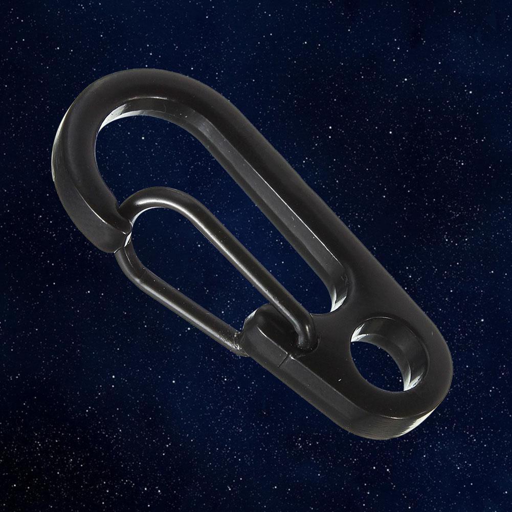 Mini-EDC-Schlüsselring-Set Schlüsselschnalle Schnappverschlußhaken · Karabiner