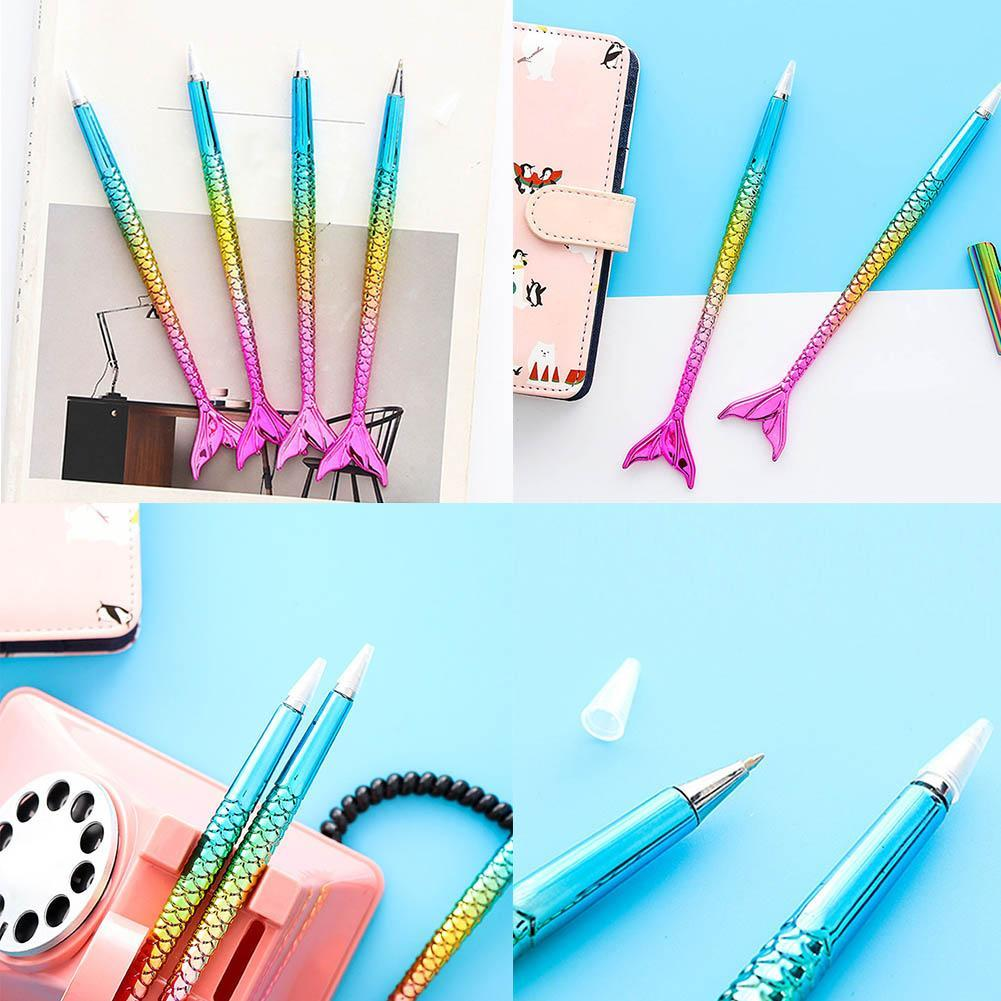 Details about Colorful Mermaid Ballpoint Pen Kids Praize Gifts Writing Pens Stationery Kawaii