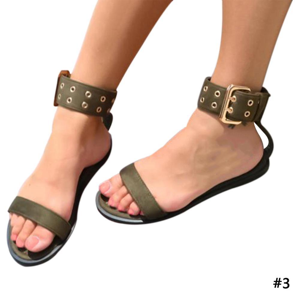 Chunky Heel Sandals up to Size 12 (26.5cm EU 43