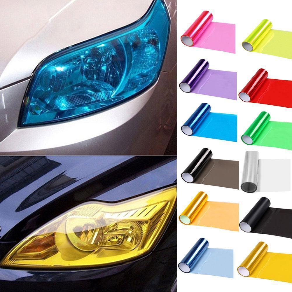 5D Auto Twill-Weave Kohlefaser Vinyl Membran Aufkleber 10x127cm Stil Film Y8G0