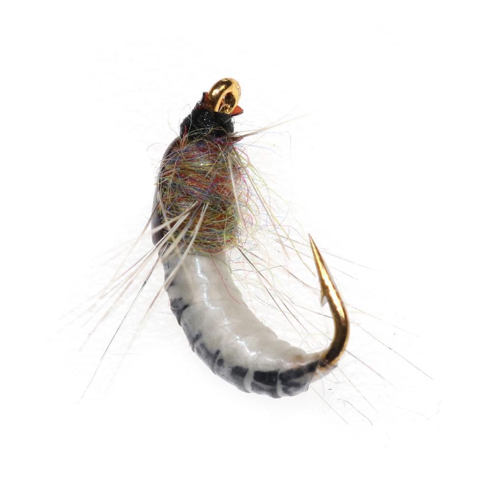 box Realistische Nymphe Scud Fly für Forellenangeln Künstliche Insekte R3T0 6x