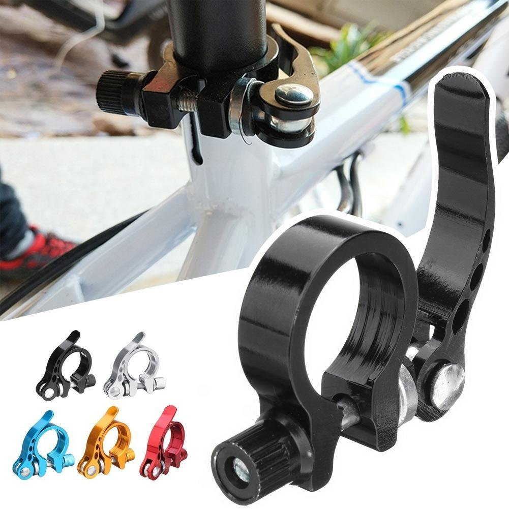 1PC MTB Bike Cycling Saddle Seat Post Clamp Outdoor Sporting  Parts Gift