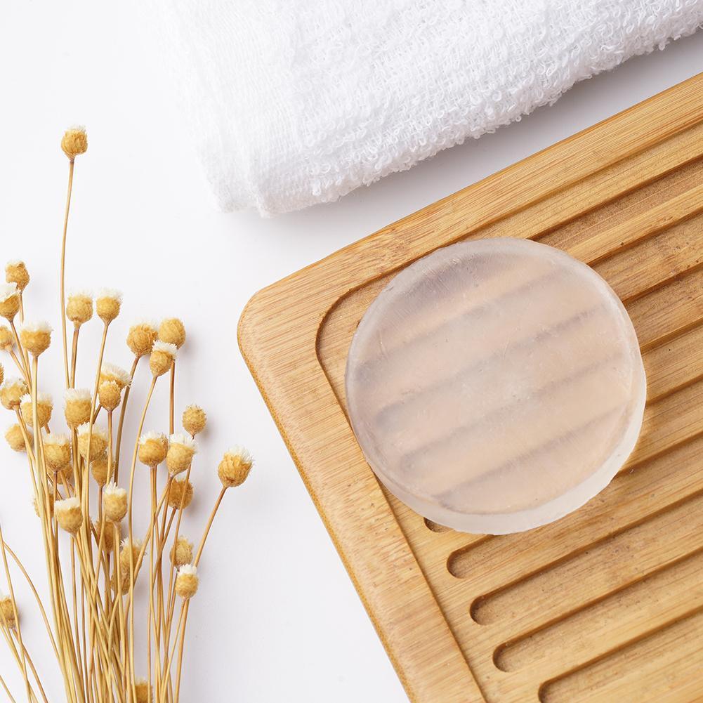 Savon en cristal à Enzyme Active naturelle, blanchiment intime de la peau du corps, pour le bain privé, estompe l'aréole, douche de haute qualité