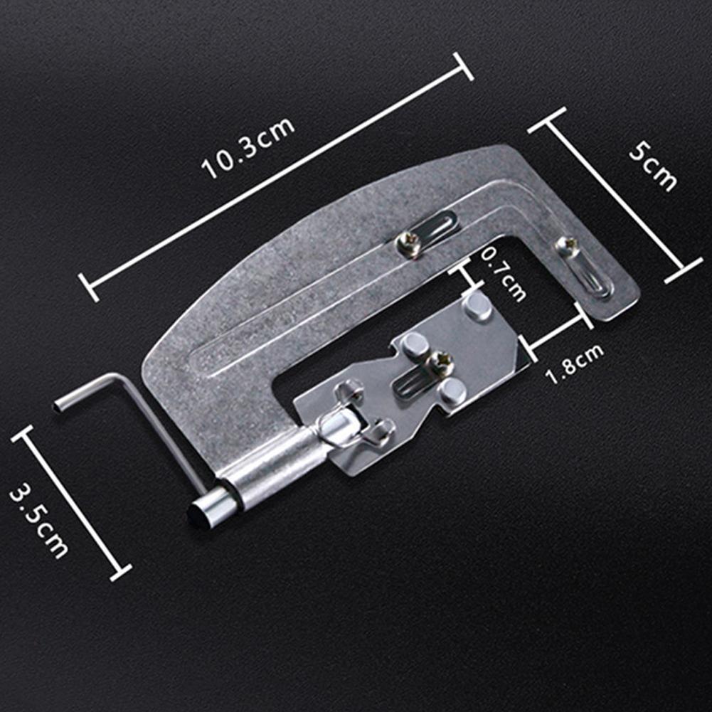 Stainless Steel Semi Automatic Fishing Hook Line Tier Bin Device Tie Gadget Z5A2