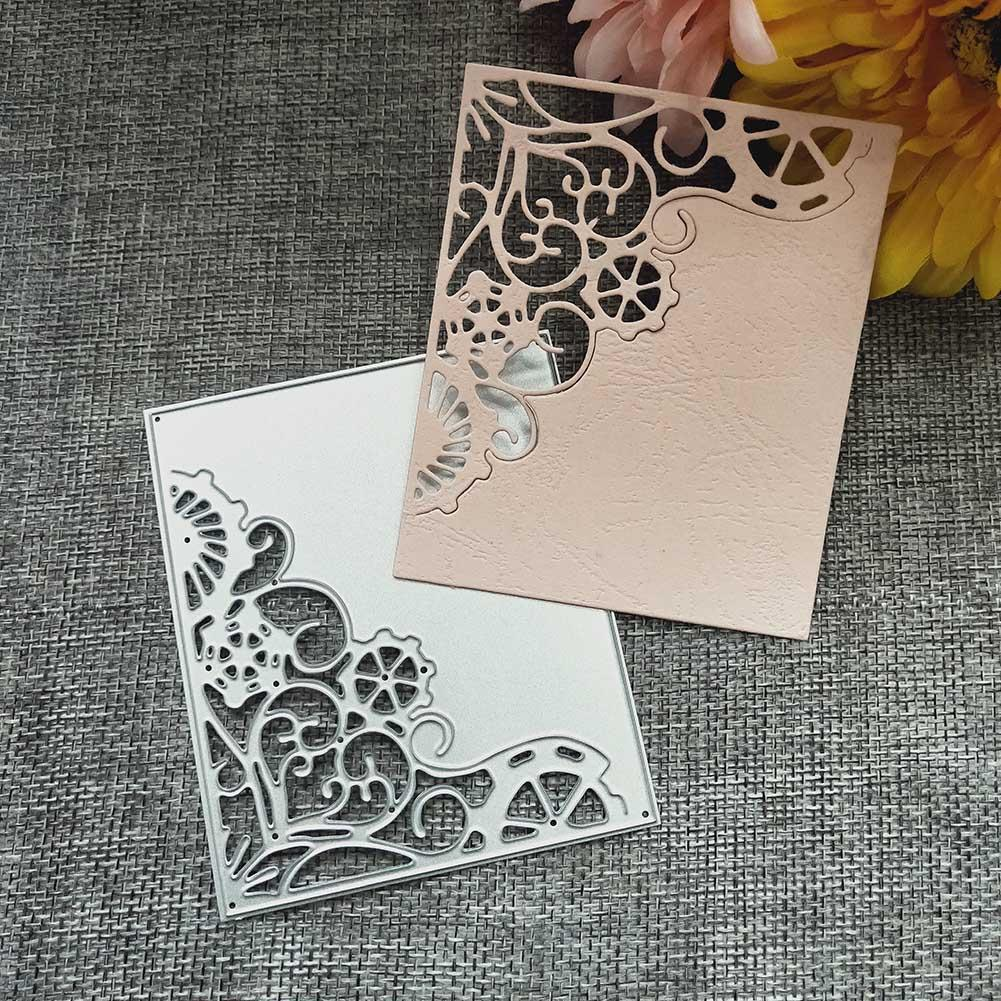 Beautiful Rose Flower Metal Cutting Dies Stencil Scrapbooking Paper Cards Decors