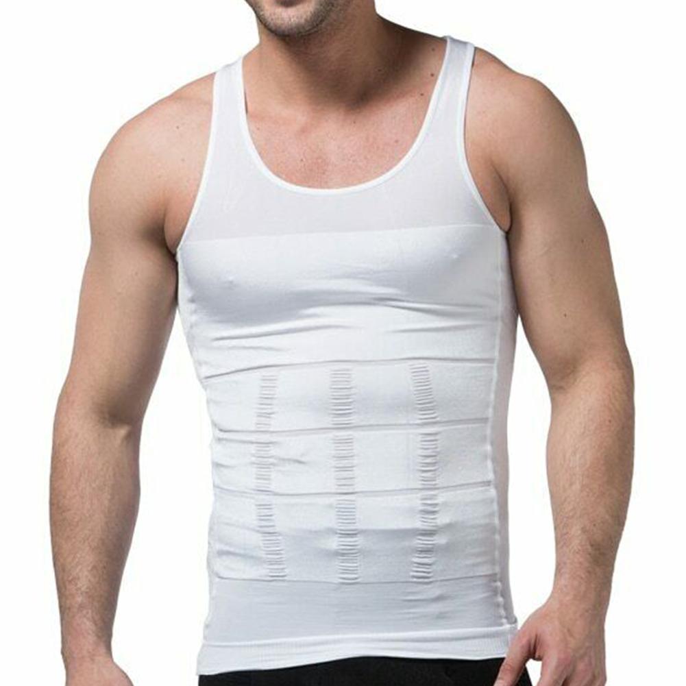 O-Best Mens Slimming Body Slim N Lift Shaper Belly Buster Underwear Vest Compression