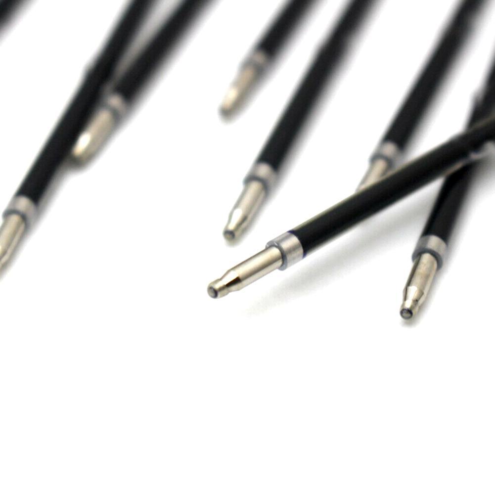 100X Kugelschreibermine Ersatz Blau Schulbüro Schreibwaren