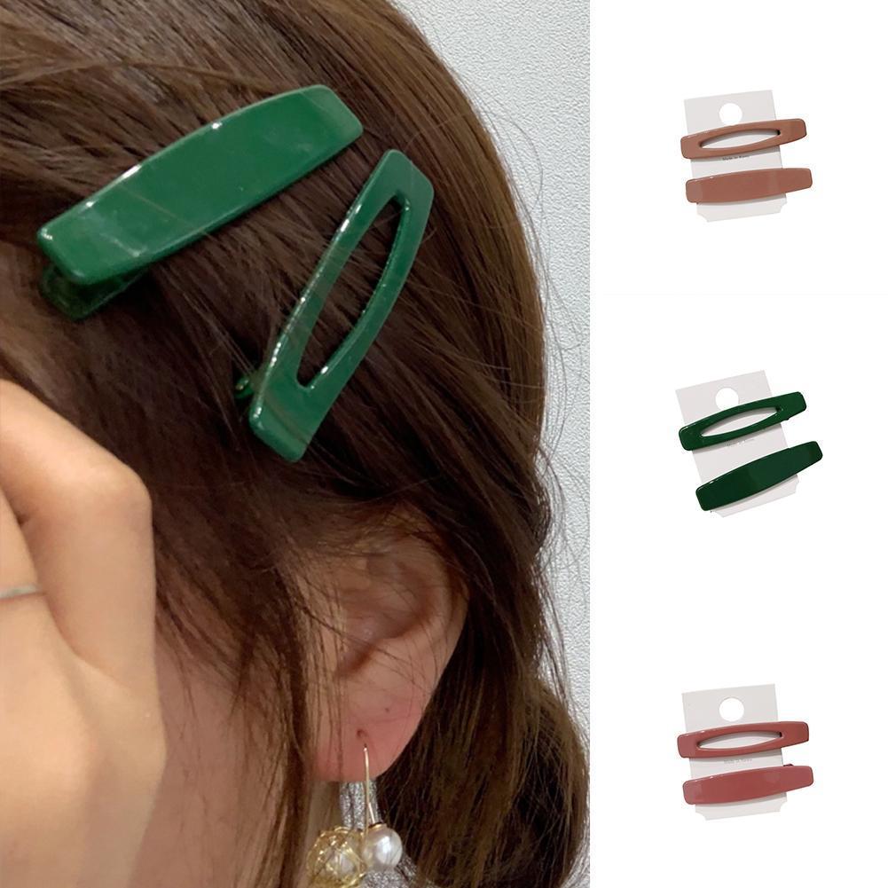 Women Flower Hairpins Hair Claw Clip Candy Color Mini Claw Hair Clips