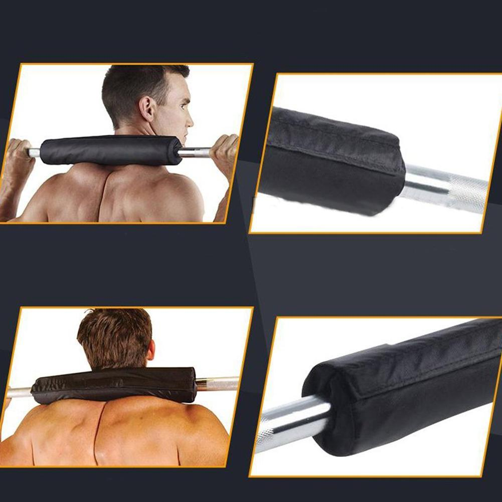 Barbell Pad Squat Bar Supports Weight Lifting Pull Up Neck Shoulder Protect S0I7