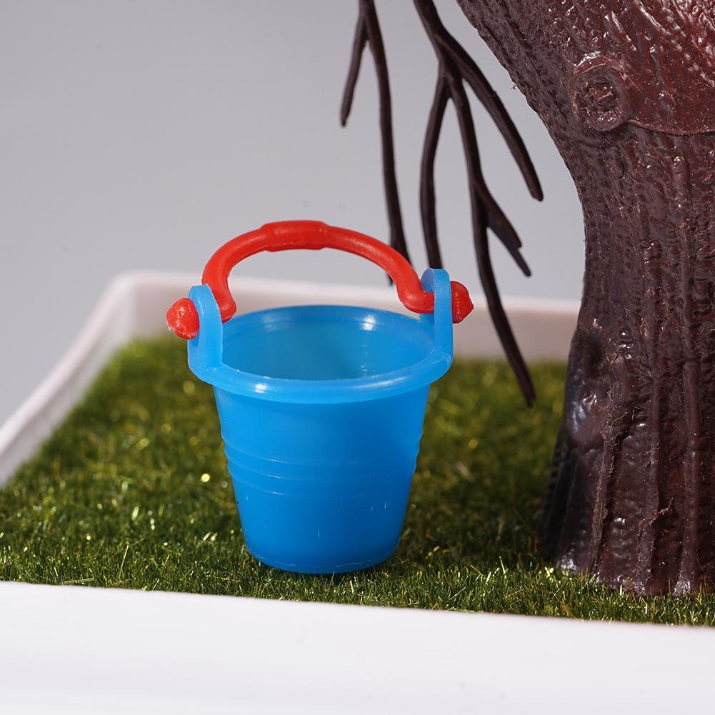 5pcs 1//12 Dollhouse Miniature Furniture Colorful Water Accessor S9D4 Bucket K3Z7