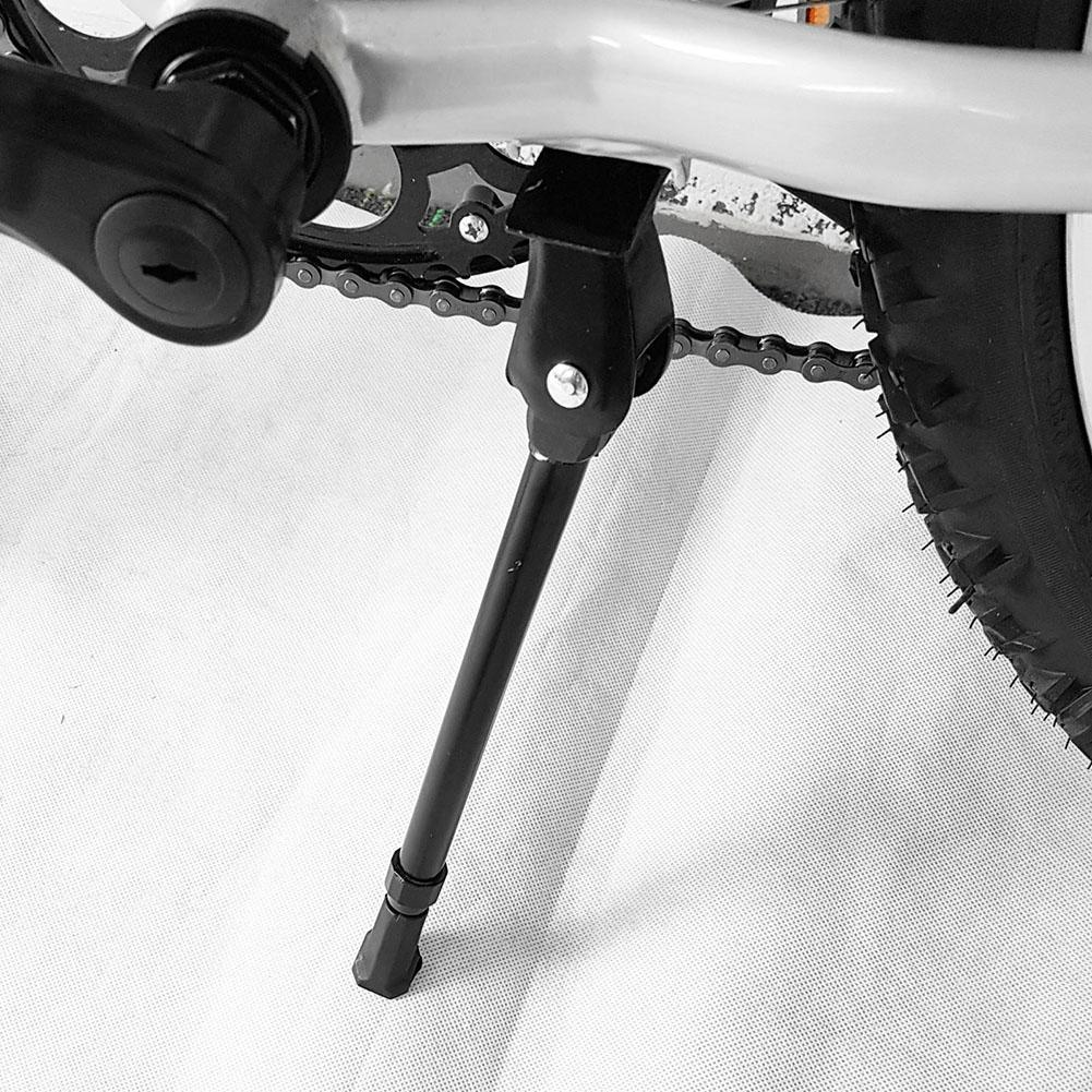 Mountain Bike Bicycle Cycle Kick Stand Adjustable Rubber Foot Heavy Duty Kicks