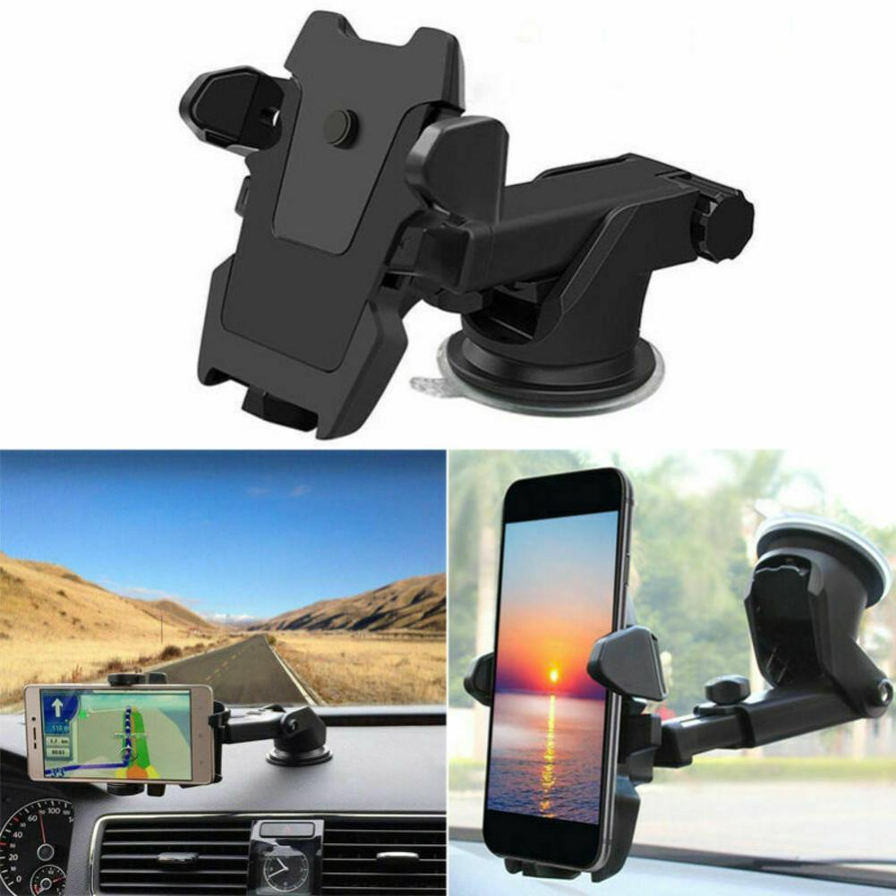 1x Car Bracket Cradle Suction Cup Mount Holder For GPS iPhone Android Smartphone
