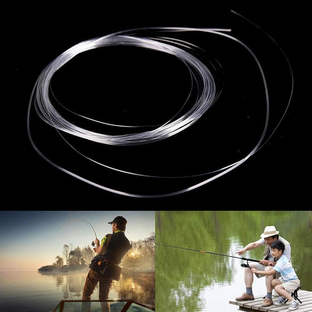 5pcs Fly Fishing Fluorocarbon Tapered Leader 9FT 0//1//2//3//4//5//6//7X Leader Line