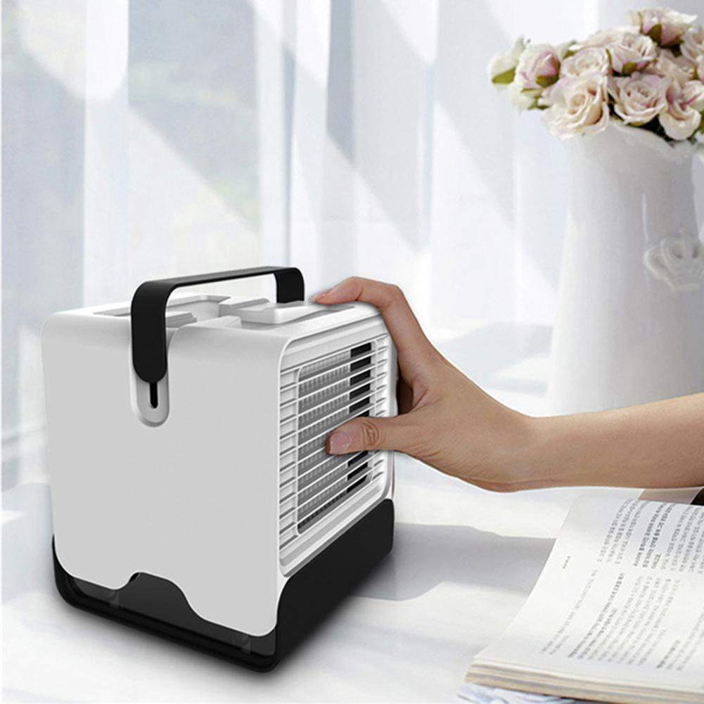 Mini Air Conditioning Fan Air Cooler Home Office Water Cooling Air ConditionerVV