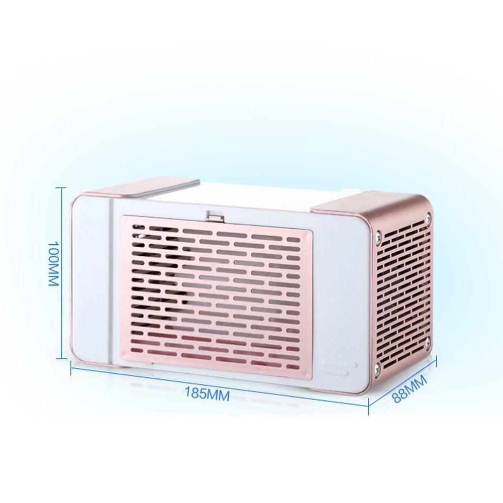 Tragbarer Mini Tischklimaanlage-kleiner Ventilator USB Kühlungskühler Home S8I9