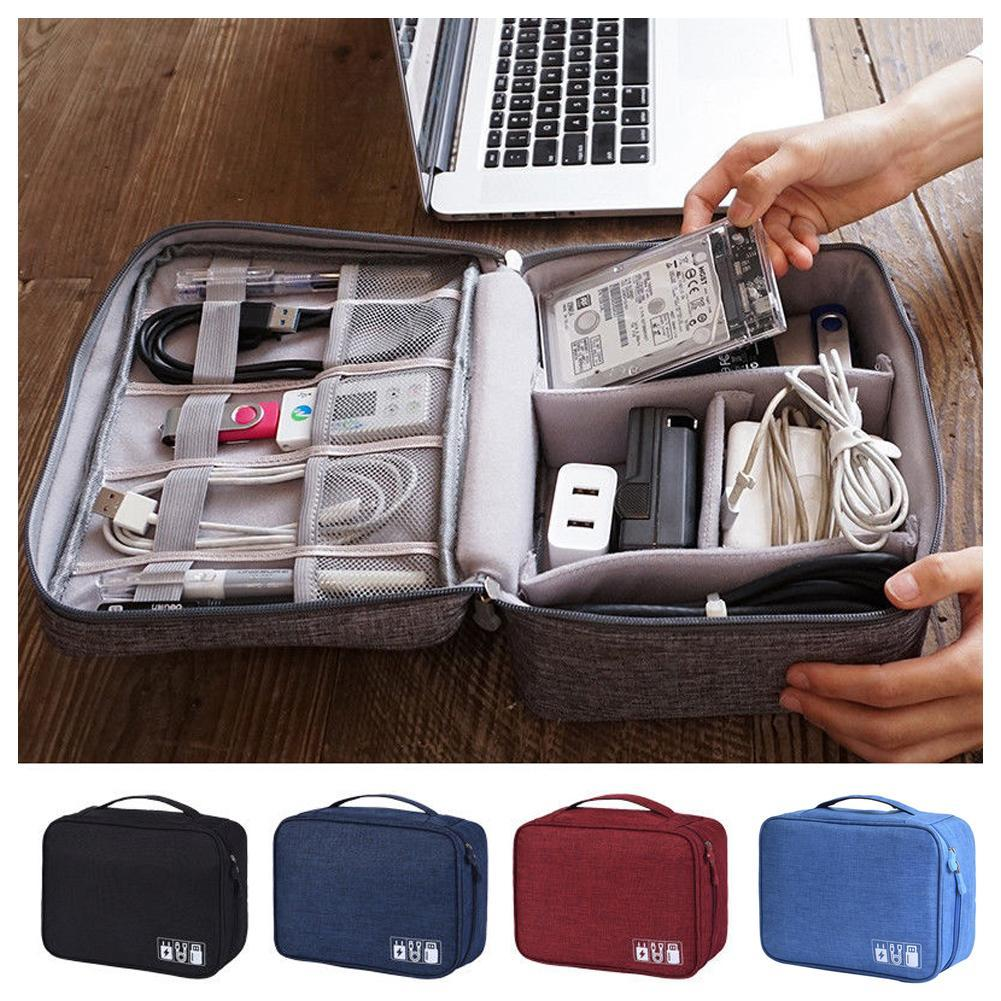 Waterproof Travel Shoes Storage Outdoor Tote Pouch Zip Portable Bag Organizer KI