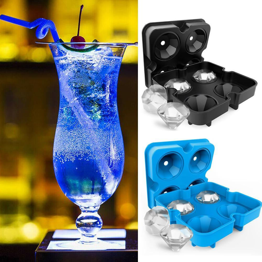 Ice Bucket Silicone Ice Cube Making Bucket Ice Cube Maker Mould Cup Suitable For Drinks Whiskey