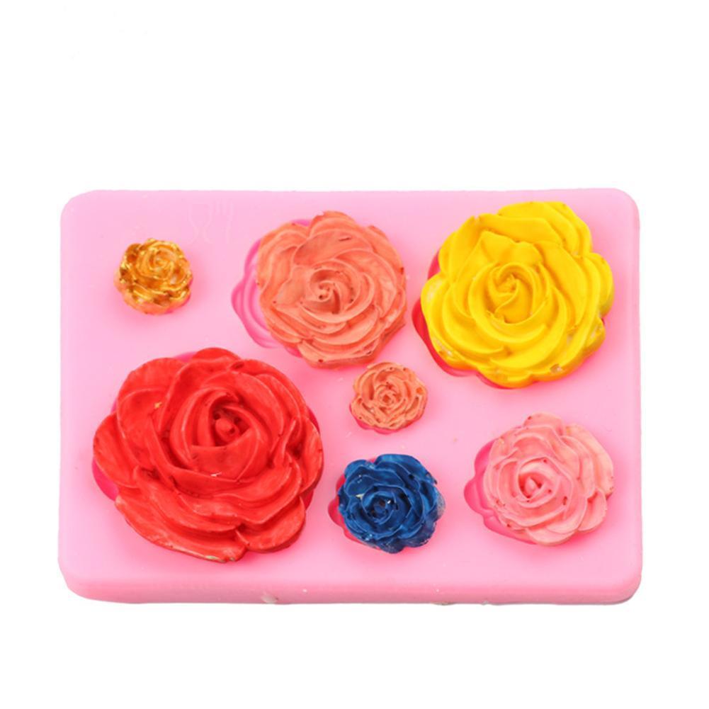 Blätter Embellisment Silikon Fondant Form Kuchen Dekor Schokolade Form Zuck U1D9