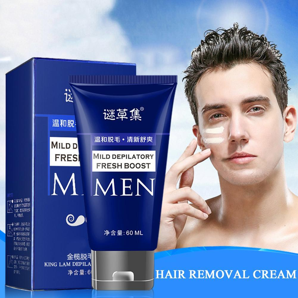 Permanent Body Hair Removal Cream For Men Hand Leg Hair Loss