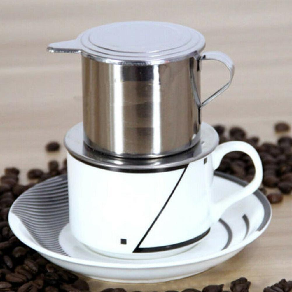 Stainless Steel Vietnamese Coffee Press Maker Single Cup For Office Ebay