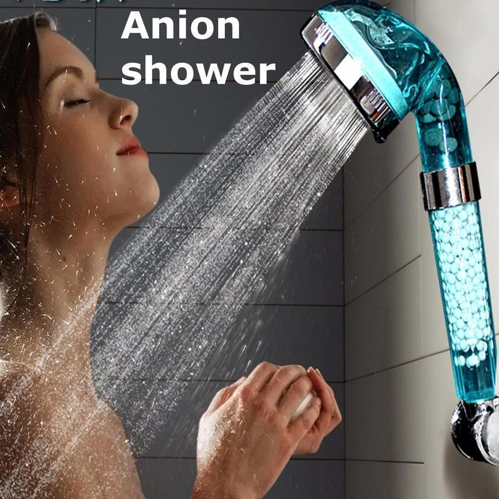 Monaki Ionic Filtration Shower Head 3 Mode High Pressure Negative Stone Ion C8P1