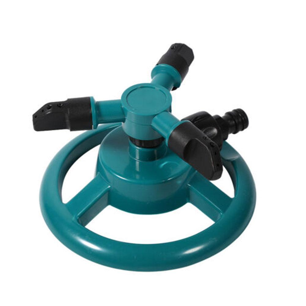 360 ° Gartenrasen-Rotationssprinkler 3-Arm-Bewässerungsspray für den Außen I2H2