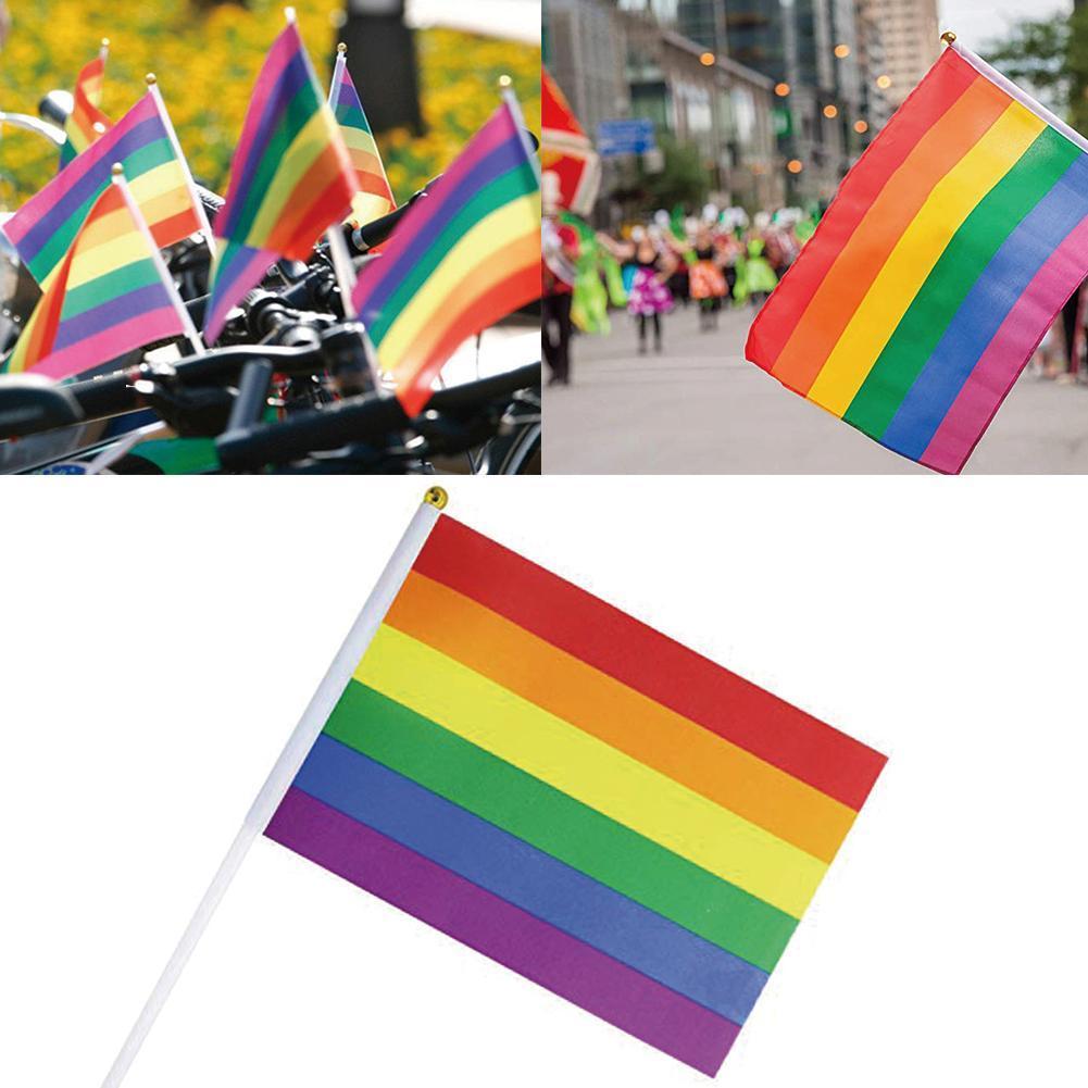 The History Of The Rainbow Flag
