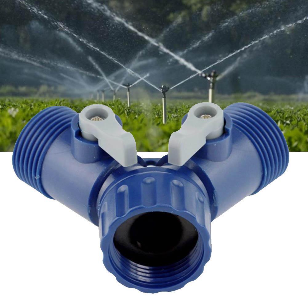 4 Wege Garten Wasser Hahn Teiler Adapter Schnell Gewinde Adapter Schlauchle D5W5